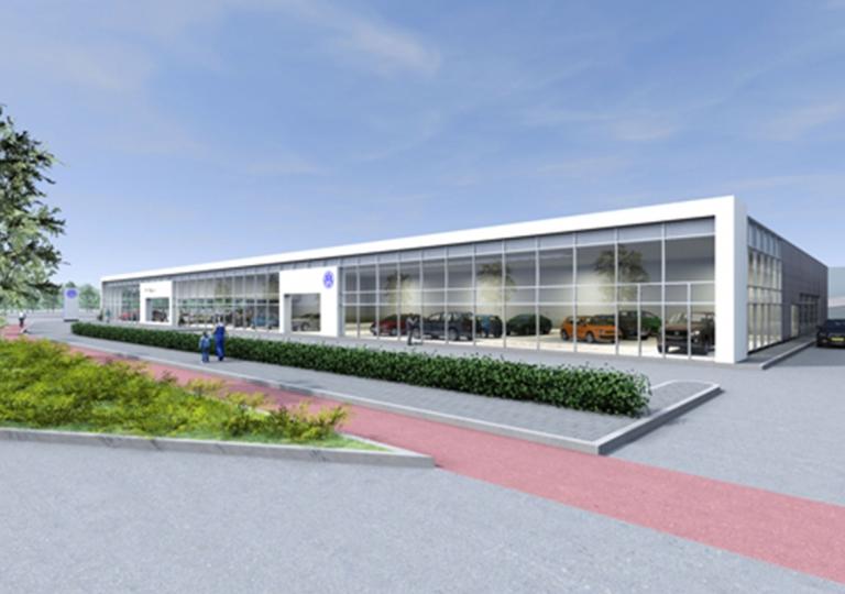 Showroom en werkplaats Pon, Amersfoort
