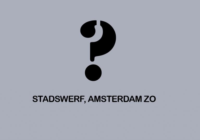 Stadswerf, Amsterdam ZO